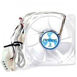 Antec - TRICOOL 92MM DBB - Antec TriCool Case Fan - 92mm - 2200rpm