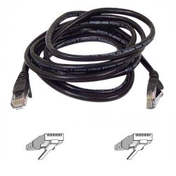 Belkin / Linksys - A3L791-20-BLK-S - Belkin Patch Cord - RJ-45 Male - RJ-45 Male - 20ft - Black