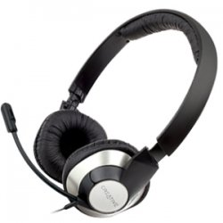 Creative Labs - 51EF0410AA001 - Creative ChatMax HS-720 Headset - Stereo - USB - Wired - 16 Ohm - 20 Hz - 20 kHz - Over-the-head - Binaural - Semi-open - 6.56 ft Cable - Noise Cancelling Microphone