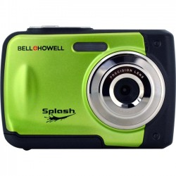 Bell+Howell - WP10-G - Bell+Howell WP10 Compact Camera - Green - 2.4 LCD - 8x - 4032 x 3024 Image - 640 x 480 Video