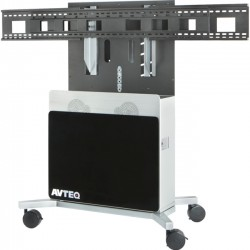 Avteq - ELT-2100L - Avteq Elite ELT-2100L Display Stand - Up to 70 Screen Support - 400 lb Load Capacity - Flat Panel Display Type Supported48 Width - Desktop - Black
