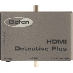 Gefen - EXT-HD-EDIDPN - Gefen HDMI Detective Plus - Functions: Video Emulation, Video Recording - 1920 x 1200 - USB - 1 Pack - External