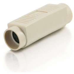 C2G (Cables To Go) - 21726 - C2G PS/2 6-pin Mini Din F/F Gender Changer (Coupler) - 1 x Mini-DIN (PS/2) Female - 1 x Mini-DIN (PS/2) Female - Beige
