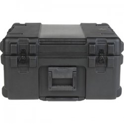 "SKB Cases - 3R2222-12B-CW - SKB 3R 12"" Deep Roto Mil-Standard Waterproof Case - Internal Dimensions: 22"" Width x 12"" Depth x 22"" Height - Latching Closure - Polyethylene - Black - For Military"