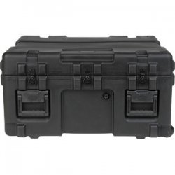"SKB Cases - 3R3025-15B-CW - SKB 3R Roto Molded Waterproof Case - Internal Dimensions: 30"" Width x 25"" Depth x 15"" Height - 48.70 gal - Latching Closure - Polyethylene - Black - For Military"