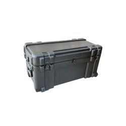 "SKB Cases - 3R3214-15B-CW - SKB 3R 15"" Roto Military Standard Waterproof Case - Internal Dimensions: 14.50"" Width x 15.75"" Depth x 32"" Height - Latching Closure - Polyethylene - Black - For Military, Video Equipment, Lighting Equipment"