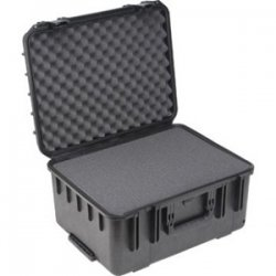 "SKB Cases - 3I-2015-10B-C - SKB 3l Mil-Std Waterproof Case - Internal Dimensions: 15.50"" Width x 10"" Depth x 20.50"" Height - 13.76 gal - Latching Closure - Heavy Duty - Stackable - Polypropylene - Black - For Audio Equipment, Military"
