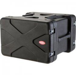 "SKB Cases - 1SKB-R906U20 - SKB 6U Roto Shockmount Rack Case - Internal Dimensions: 19"" Width x 22.25"" Depth x 10.50"" Height - External Dimensions: 29"" Width x 27.5"" Depth x 19.5"" Height - 17.27 gal - Latching Closure - Stackable - Polyethylene - Black -"