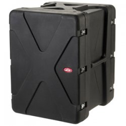 "SKB Cases - 1SKB-R916U20 - SKB 16U Roto Shockmount Rack Case - Internal Dimensions: 19"" Width x 23.25"" Depth x 28"" Height - External Dimensions: 29.3"" Width x 27.4"" Depth x 36.3"" Height - 46.06 gal - Latching Closure - Stackable - Polyethylene - Black -"