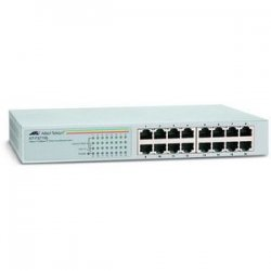 Allied Telesis - AT-FS716L-10 - Allied Telesis AT-FS716L-10 Unmanaged Fast Ethernet Switch - 16 x 10/100Base-TX