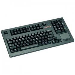 Cherry - G80-11900LPMUS-0 - Cherry G80-11900 Series Compact Keyboard - PS/2 - QWERTY - 104 Keys - Light Gray - English (US)