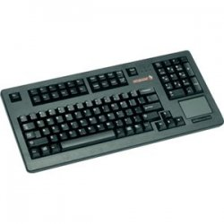 Cherry - G80-11900LTMUS-2 - Cherry G80-11900 Series Compact Keyboard - PS/2 - QWERTY - 104 Keys - Black - English (US)