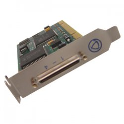 Perle Systems - 04002040 - Perle UltraPort - 4 Port Multiport Serial Card - 4 x RS-232 Serial Via Cable - Plug-in Card