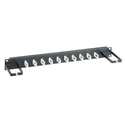 Belkin / Linksys - RK5017 - Belkin Low-Density Cable Manager - Cable Manager - Black - 1U Rack Height