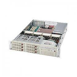 Supermicro - CSE-823T-R500LP - Supermicro SC823T-R500LP Chassis - Rack-mountable - Beige