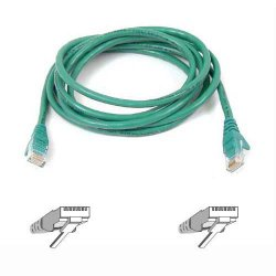 Belkin / Linksys - A3L980-14-GRN-S - Belkin High Performance Cat6 Cable - RJ-45 Male - RJ-45 Male - 14ft - Green