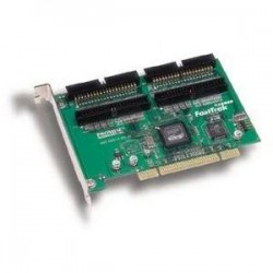 Promise Technology - FASTTRAKTX4000-5PK - Promise FastTrak TX4000 Ultra-ATA RAID Controller - Up to 266MBps - 4 x 40-pin IDC Ultra ATA/133 (ATA-7) - ATA Internal