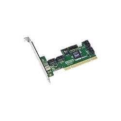 Promise Technology - FASTTRAK TX4310 5PK - Promise FastTrak TX4310 4 Port Serial ATA RAID Controller - 300MBps - 4 x 7-pin SATA Serial ATA/300 - Serial ATA Internal