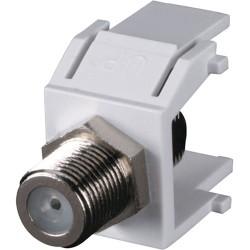 Black Box Network - FMT361-R2 - Black Box GigaStation2 FMT361-R2 F-Connector - 1 x F Connector Female, 1 x F Connector Female - White