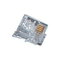 Black Box Network - FMTP411-50PAK - Black Box RJ-11 Modular Connector - RJ-11