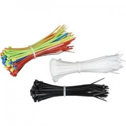 Black Box Network - FT611 - Black Box Mini Cable Ties - Cable Tie - 100 Pack