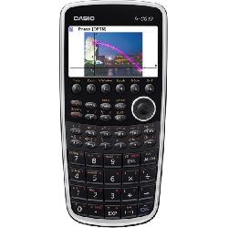 Casio - FX-CG10-IH-SC - Casio PRIZM fx-CG10 Graphing Calculator - Auto Power Off, Textbook Display - Battery Powered - Battery Included - 0.8 x 3.5 x 7.4 - Blue
