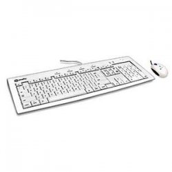MacAlly / Mace Group - IKEY5COMBO - MACALLY iKey5Combo USB Keyboard & USB Optical Mouse Combo
