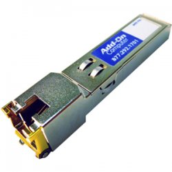 AddOn - GLC-T-AO - AddOn Cisco GLC-T Compatible TAA Compliant 1000Base-TX SFP Transceiver (Copper, 100m, RJ-45) - 100% compatible and guaranteed to work