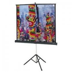 "Da-Lite - 89060 - Da-Lite Versatol Tripod Projection Screen - 40"" x 40"" - Matte White - 57"" Diagonal"