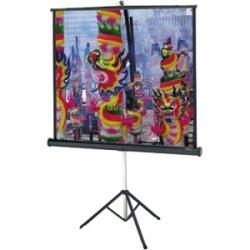"Da-Lite - 72263 - Da-Lite Tripod Projector Screen - 70"" x 70"" - Matte White - 99"" Diagonal"