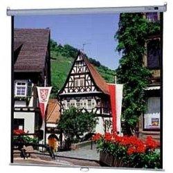 "Da-Lite - 40194 - Da-Lite Model B Manual Wall and Ceiling Projection Screen - 60"" x 80"" - Matte White - 100"" Diagonal"