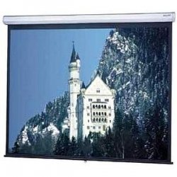 "Da-Lite - 40257 - Da-Lite Model C Manual Wall and Ceiling Projection Screen - 84"" x 108"" - Matte White - 137"" Diagonal"