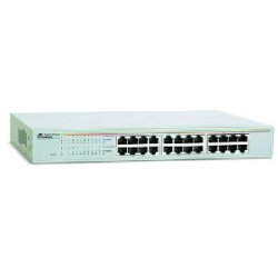 Allied Telesis - AT-GS900/24-10 - Allied Telesis AT-GS900/24 Unmanaged Gigabit Ethernet Switch - 24 x 10/100/1000Base-T