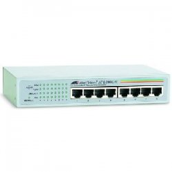 Allied Telesis - AT-GS900/8E-10 - Allied Telesis 8-port 10/100/1000TX Unmanaged Switch - 8 x 10/100/1000Base-T