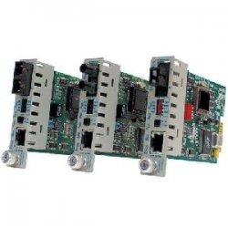Omnitron - 8370-1 - iConverter 100Mbps Ethernet Single-Fiber Media Converter RJ45 SC Single-Mode BiDi 20km Module - 1 x 100BASE-TX; 1 x 100BASE-BX (1310/1550); Internal Module; Lifetime Warranty