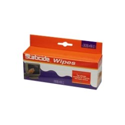 Kodak - 8965519 - Kodak Staticide Cleaning Wipes - For Scanner - 24 / Box - 6 Box