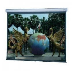 "Da-Lite - 89861 - Da-Lite Model C With CSR Manual Wall and Ceiling Projection Screen - 70"" x 70"" - High Power - 99"" Diagonal"