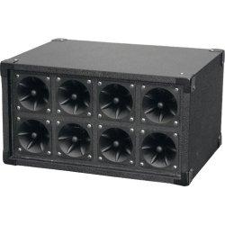 Pyle / Pyle-Pro - PAHT8 - PylePro PAHT8 150 W RMS - 300 W PMPO Indoor Tweeter - 8-way - 1 Pack - 4 Hz to 27 kHz - 8 Ohm - 97 dB Sensitivity