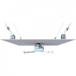 Premier Mounts - FTP-FCMAW-QL - Premier Mounts FTP-FCMAW-QL Ceiling Mount for Projector - 65 lb Load Capacity - White