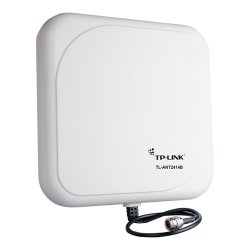 TP-LINK - TL-ANT2414B - TP-LINK TL-ANT2414B 2.4GHz 14dBi Outdoor Directional Antenna, N Female connector, 1m/3ft cable - Upto 3.1 Mile - 14 dBi - Wireless Data Network, Outdoor - Pole/Wall