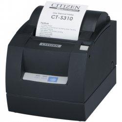 Citizen - CT-S310II-U-BK - Citizen CT-S310II Direct Thermal Printer - Monochrome - Desktop - Receipt Print - 2.83 Print Width - 6.30 in/s Mono - 203 x 203 dpi - 4 KB - USB - Serial - 3.15 Label Width