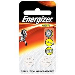 Energizer - A76BPZ - Energizer A76BPZ Alkaline Coin Cell Battery - Alkaline - 1.5 V DC - 1 Each
