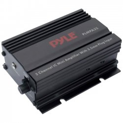 Pyle / Pyle-Pro - PLMPA35 - Pyle PLMPA35 Car Amplifier - 300 W PMPO - 2 Channel - Class AB - 1% THD - 15 W @ 4 Ohm