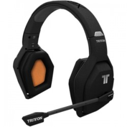 Mad Catz / Saitek - TRI476720M02/02/1 - Tritton Devastator Wireless Stereo Headset - Stereo - Black - Wireless - Over-the-head - Binaural - Ear-cup