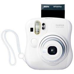 Fujifilm - 15953812 - Fujifilm Instax Mini 25 Instant Film Camera - Instant Film - White