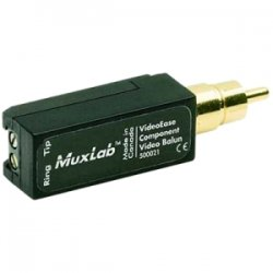 MuxLab - 500021 - MuxLab Component Video Balun - 1 x RCA Male - Gold