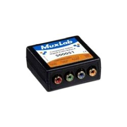 MuxLab - 500051 - MuxLab VideoEase Component Video/Digital Audio Balun- F