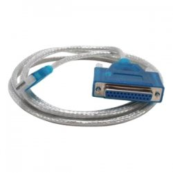 Sabrent - USB-DB25F - Sabrent USB to Parallel Converter Cable Adapter - Parallel/Serial - 6 ft - Type A Male USB - DB-25 Female Parallel