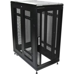 StarTech - RK2536BKF - StarTech.com 25U 36in Knock-Down Server Rack Cabinet with Casters - 36 25U
