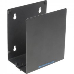 Rack Solution - 104-2109 - Rack Solutions 104-2109 Wall Mount for CPU - 35 lb Load Capacity - Black